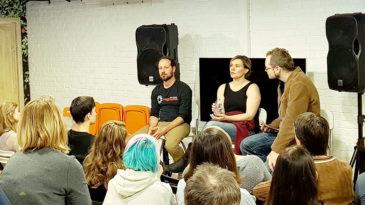 Аниматоры из США в анимационной студии ПАРОВОЗ us-animators visit parovoz studio