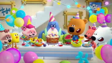《小小熊》三岁了!我们最喜欢的《小小熊》动画系列将过生日!