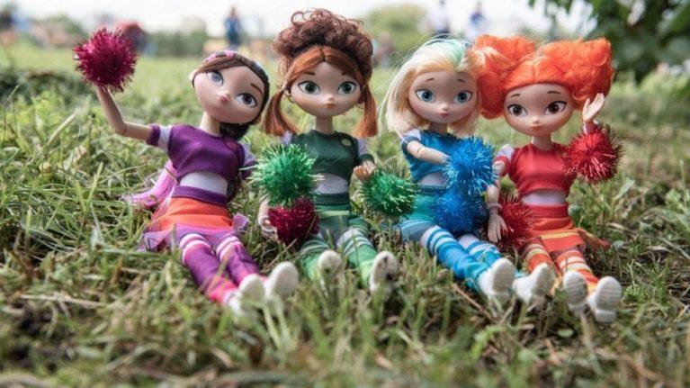 """""""美少女巡逻队""""的娃娃进入最受欢迎特许经营产品的前五名"""