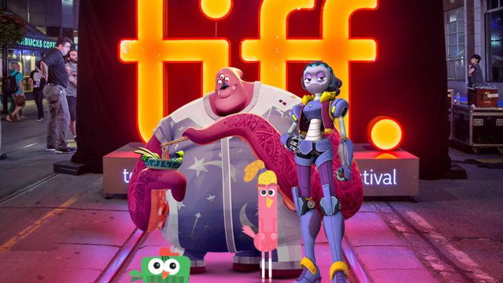"""""""蒸汽机车""""动画工作室在TIFF多伦多国际电影节上展示自己的动画电影"""