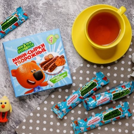 """""""小小熊""""品牌奶渣甜品新产品线上市"""