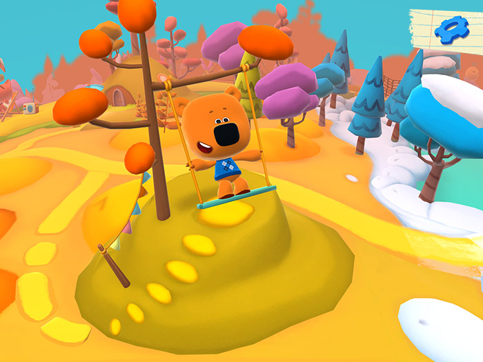 Screenshots from the game Be-be-bears