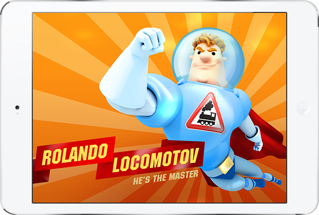 Mobile game based on «Rolando Locomotov» for iOs and Android
