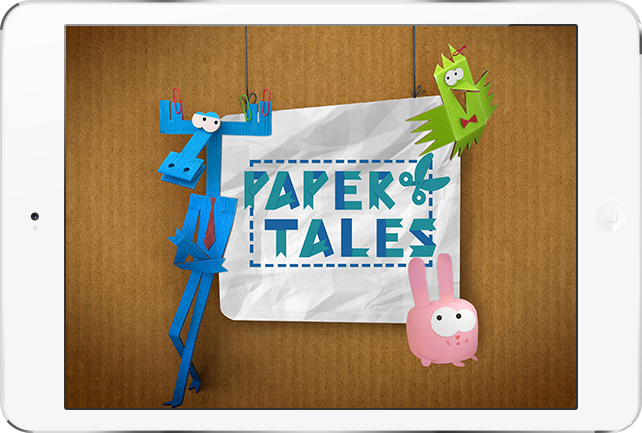 «Paper Tales» Mobile app and game for Android and iOS