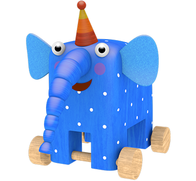 Elephant Pawoo from «Woodventures»