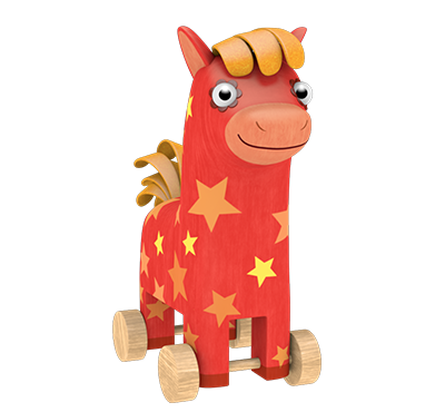 Horsey Yee-ho-ho from «Woodventures»